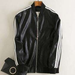 Casual Women <font><b>Mens</b></font> Motorcycle Leather <fo