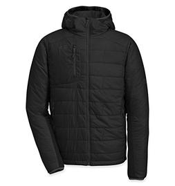 Outdoor Research Men's Cathode Hooded Jacket, Black/Charcoal