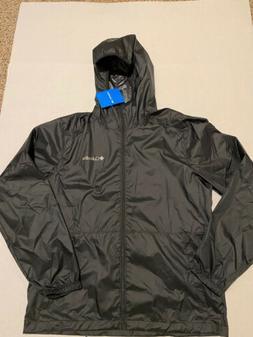 Columbia Center Ridge Windbreaker Jacket Black Men's Size: