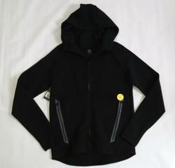 Champion C9 mens black zip up warmup activewear jacket small