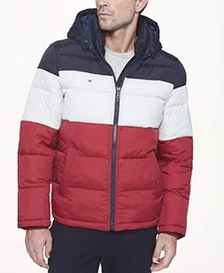 classic hooded puffer jacket