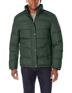 Tommy Hilfiger Men's Classic Puffer Jacket, Hunter Green, La