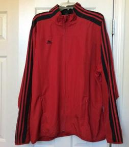 Adidas Clima Proof Windbreaker Lightweight Jacket Mesh Lined