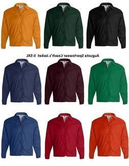 AUGUSTA Sportswear Coach's Nylon Jacket Men's S-3XL 4XL 5XL
