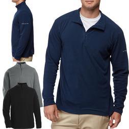 Columbia Mens Jacket 1/4 Zip Warm Polar MICROFLEECE Pullover