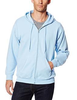 Hanes ComfortBlend EcoSmart Full Zip Hoodie Light Blue 2XL
