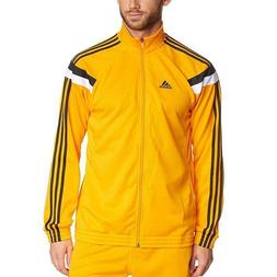 adidas Command Jackets Gold Black and White XS, Small, Mediu