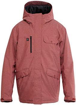 Quiksilver Men's Craft 10K Jacket Red Xl