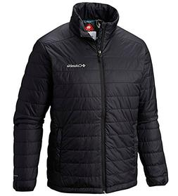 Columbia Mens Crested Butte II Omni-Heat Jacket, BLACK