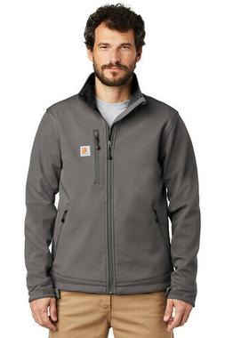 Carhartt ® Crowley Soft Shell Jacket Men's Coat Charcoal Si
