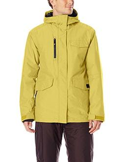 Wantdo Men's Detachable Hood Waterproof Rain Jacket Windbrea
