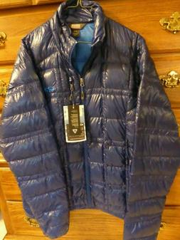 Outdoor Research Down Filament jacket Men's Large Baltic Blu