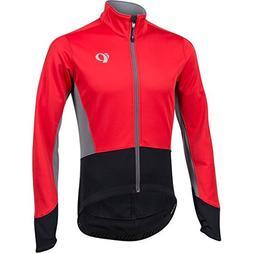 Pearl iZUMi Elite Pursuit Softshell Jacket, True Red/Black,
