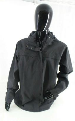 Exofficio Men's Leshan Waterproof Hooded Full Zip Gray Jacke