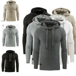 Fashion Men's Winter Hoodie Warm Hooded Sweatshirt Sweater C
