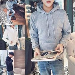 Fashion Men's Winter Warm Hoodies Hooded Coat Jacket Jumper