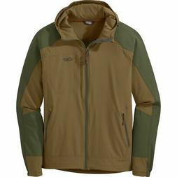 Outdoor Research Ferrosi Hooded Jacket - Men's Coyote/Fatigu