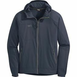 Outdoor Research Ferrosi Hooded Jacket - Men's Naval Blue XX