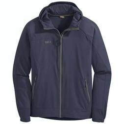 Outdoor Research Ferrosi Hooded Jacket Naval Blue