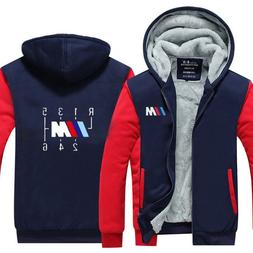 <font><b>men</b></font> Hoodies winter Thicken male for BMW