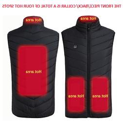<font><b>Men</b></font> Women USB Infrared Heating Vest <fon