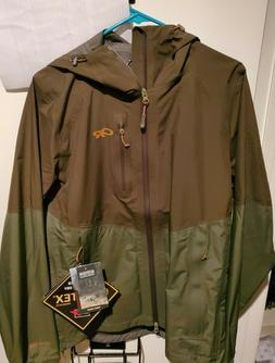 Outdoor Research Foray GoreTex Rain Jacket Men's Small Junip