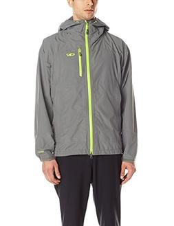 Outdoor Research Men's Foray Jacket, Pewter/Lemongrass, Larg