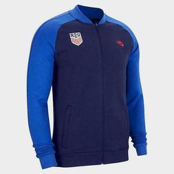 Nike Full Zip Jacket Blue USA Football Soccer World Cup CI84