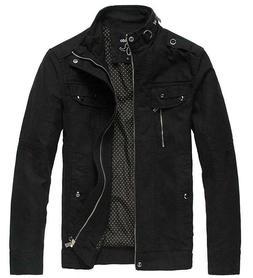 Wantdo Full Zip Stand Collar Jacket Men's Size Medium Black