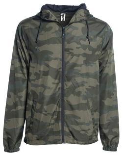Global Men's Hooded Lightweight Windbreaker Winter Jacket Wa