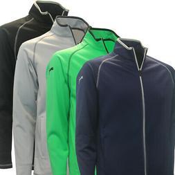 PUMA Golf Men's Member Full-Zip Fleece Jacket,  New