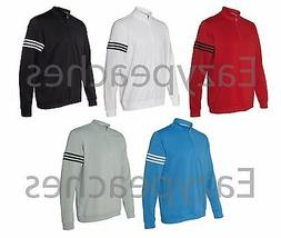 ADIDAS GOLF - Mens S-3XL, 1/4 Zip, FRENCH TERRY, CLIMALITE P