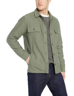 goodthreads men s military broken twill shirt