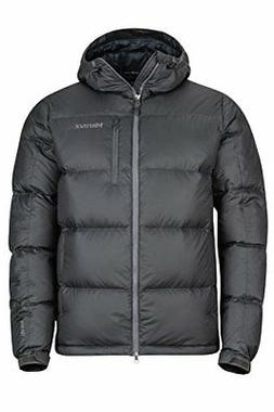 Marmot Men's Guides Down Hoody Jacket Slate Grey Size X-Larg