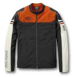 Harley-Davidson Men's Colorblock Soft Shell Jacket New with