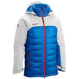 Columbia Mens Heatzone 1000 TurboDown Hooded Jacket Large Wh