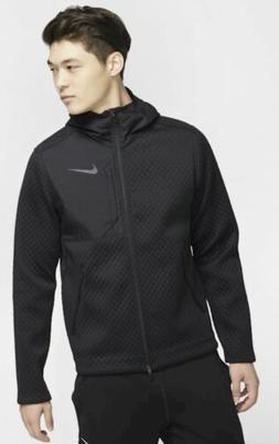 Nike Hoodie Therma Men's Full Zip Hooded Training Jacket Bla