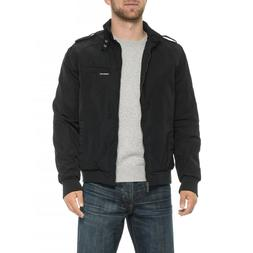 Members Only Iconic Racer Jacket Coat, NWT - Mens L- Black I