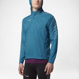 Nike Impossibly Light Men's Running Jacket MED Blue Gym Casu