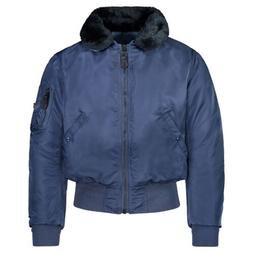 Alpha Industries B15 Jacket without Decal, Navy Blue