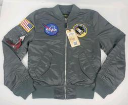 Alpha industries L-2B NASA Flight Bomber Jacket Gun Metal Gr