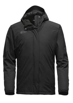 inlux insulated mens black jacket tnf size