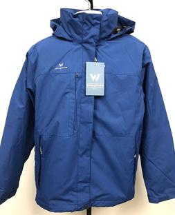 White Sierra Interchange II Jacket 3 in 1 Coat Men's Large N