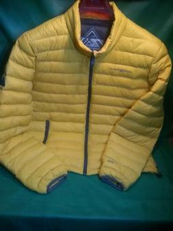 ZeroXposur Iodine Packable Down-Filled Jacket / Yellow / Men