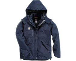Carhartt J162 Men's Shoreline Jacket Storm Defender Waterpro