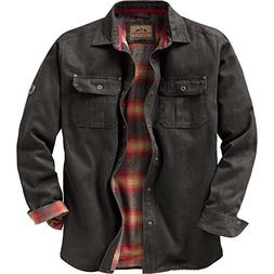 Legendary Whitetails Mens Journeyman Shirt Jacket Tarmac XX-