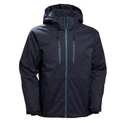 Helly Hansen Men's Juniper 3.0 Ski Jacket, Graphite Blue, X-