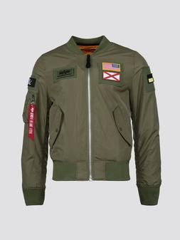 Alpha Industries L-2B FLEX FLIGHT Bomber REVERSIBLE Men's Ja