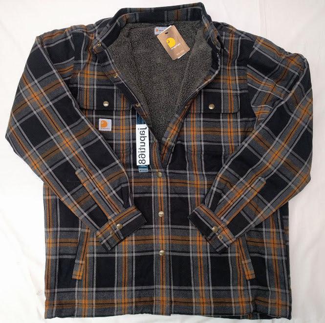 Carhartt Sherpa Lined Flannel