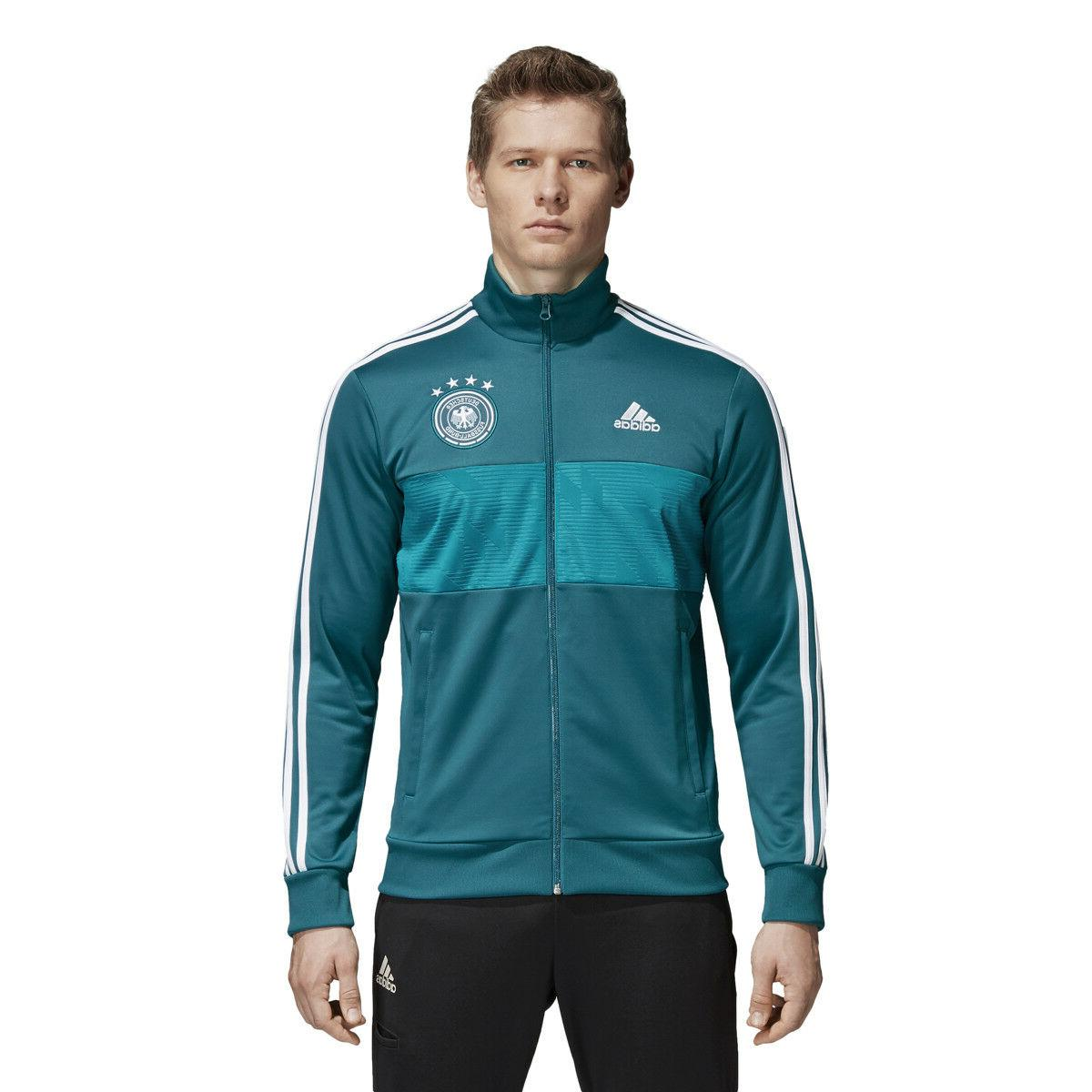 Adidas 2018 Men's Soccer Germany World Cup Track Suit Jacket